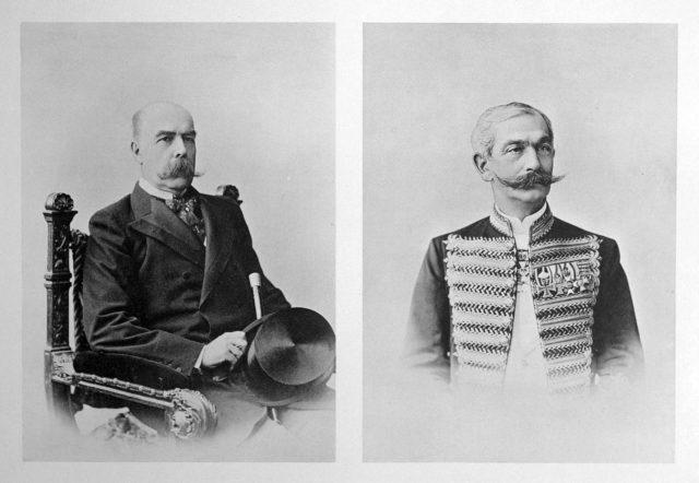 Portugese Guests of the Coronation of Emperor Nicholas II and Empress Alexandra Feodorovna, 1896.
