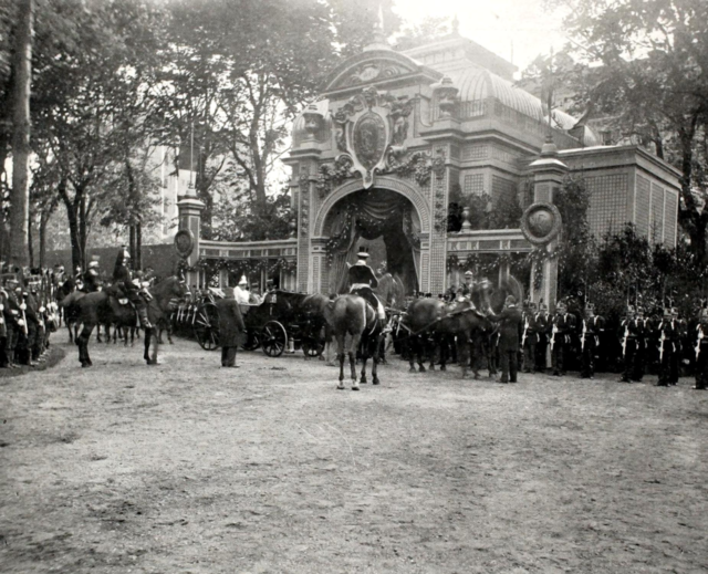 Ranelagh. Nicholas II, Empress Alexandra Feodorovna, Paris, 1896