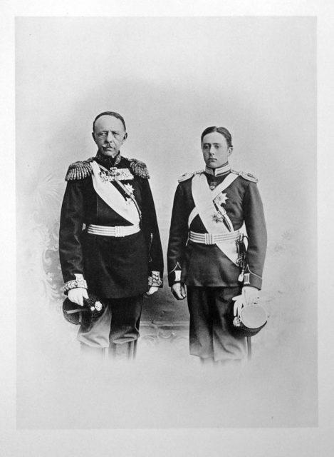 Saxen Weimar Delegation on the Coronation of Emperor Nicholas II and Empress Alexandra Feodorovna, 1896.