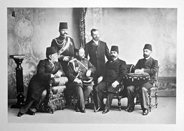 Turkey delegation on the Coronation of Emperor Nicholas II and Empress Alexandra Feodorovna, 1896.