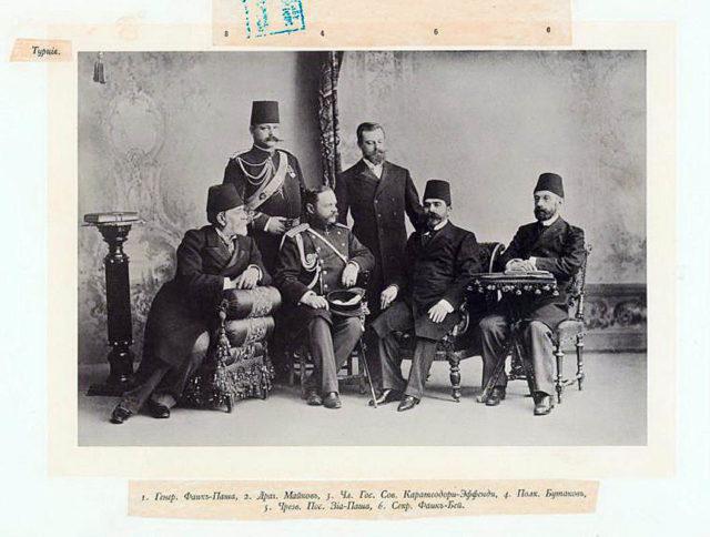 Turkish Guests of the Coronation of Emperor Nicholas II and Empress Alexandra Feodorovna, 1896.