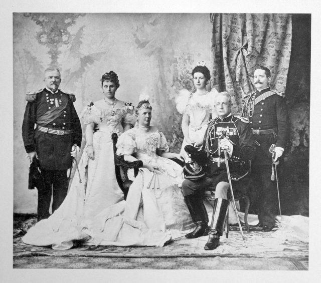 United States Delegation on the Coronation of Emperor Nicholas II and Empress Alexandra Feodorovna, 1896.
