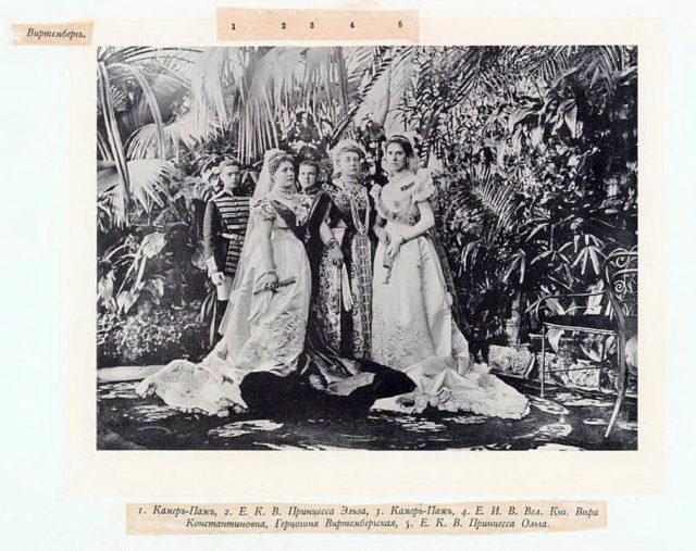Wurtemberg Guests of the Coronation of Emperor Nicholas II and Empress Alexandra Feodorovna, 1896.