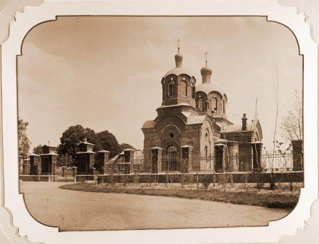 The Church of St Nicholas the Wonderworker in Bialowieza.