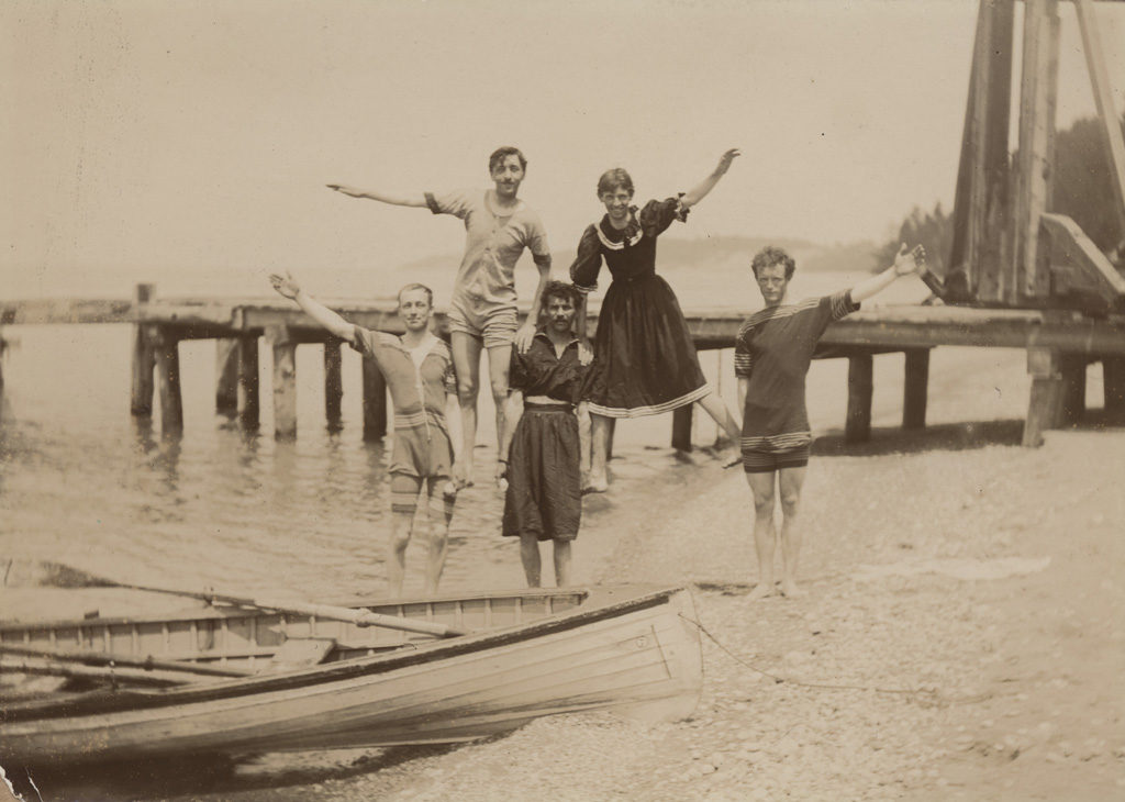 Парк Менесетунг, июль 1897 г.