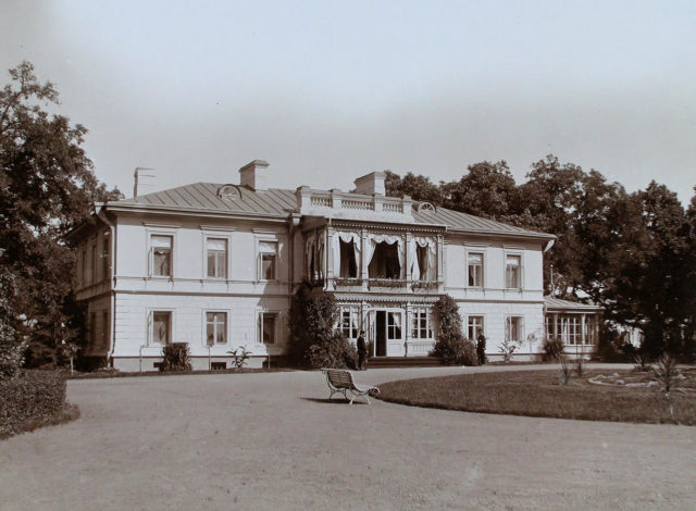 Nicholas II, Empress Alexandra Feodorovna in Warsaw.
