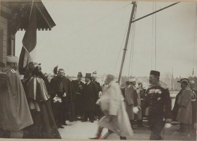 Official visit of French President Felix Faure to Russia, 1897
