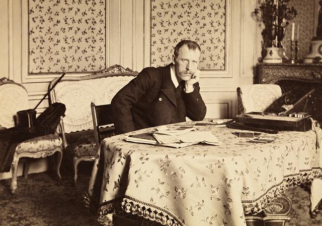Portrett av Fridtjof Nansen, mars 1897
