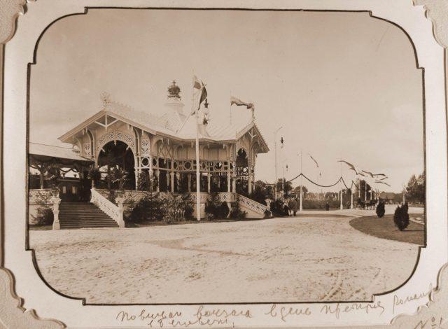 "Railway platform of the station ""Belovezh"""