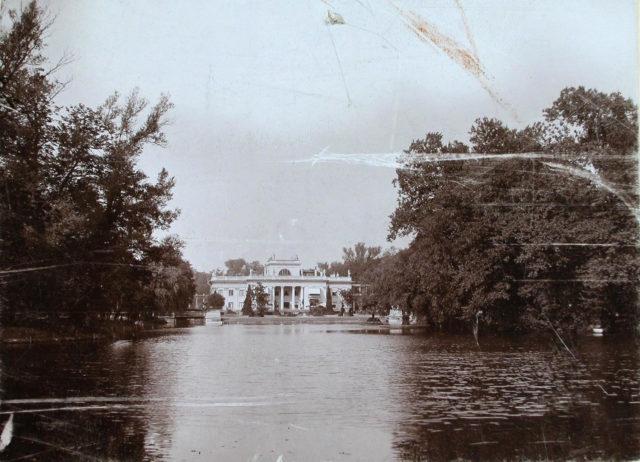 The Lazenkovsky Palace. Nicholas II, Empress Alexandra Feodorovna in Warsaw.