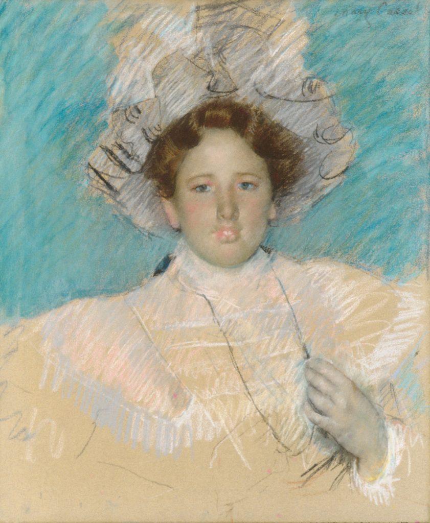 Adaline Havemeyer in a White Hat