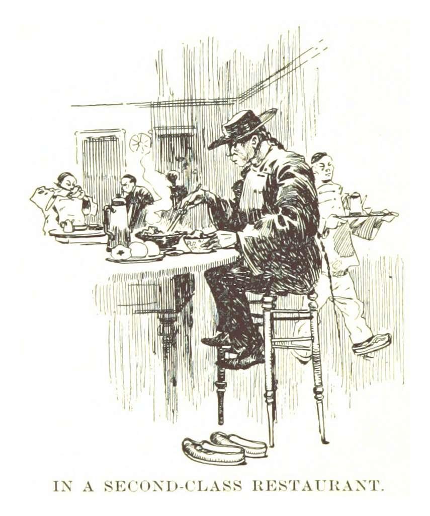 BECK(1898) p064 IN A SECOND CLASS RESTAURANT