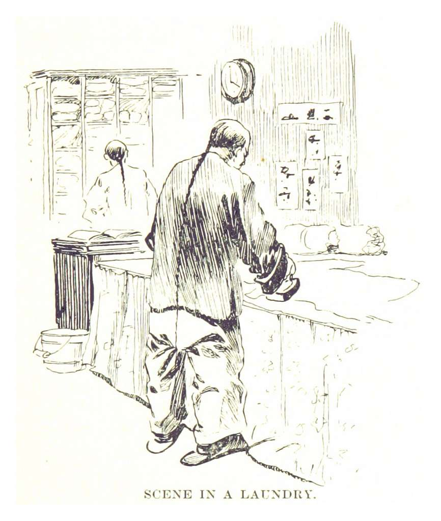 BECK(1898) p075 SCENE IN A LAUNDRY