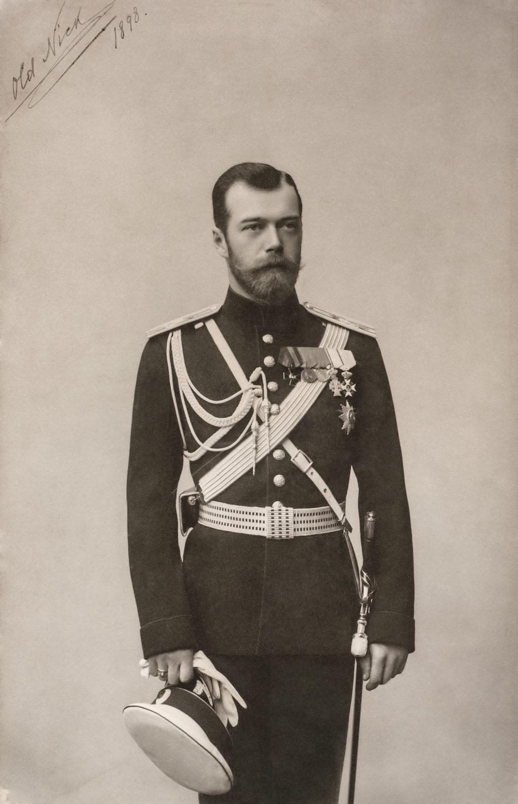 Emperor Nicholas II. 1898 .