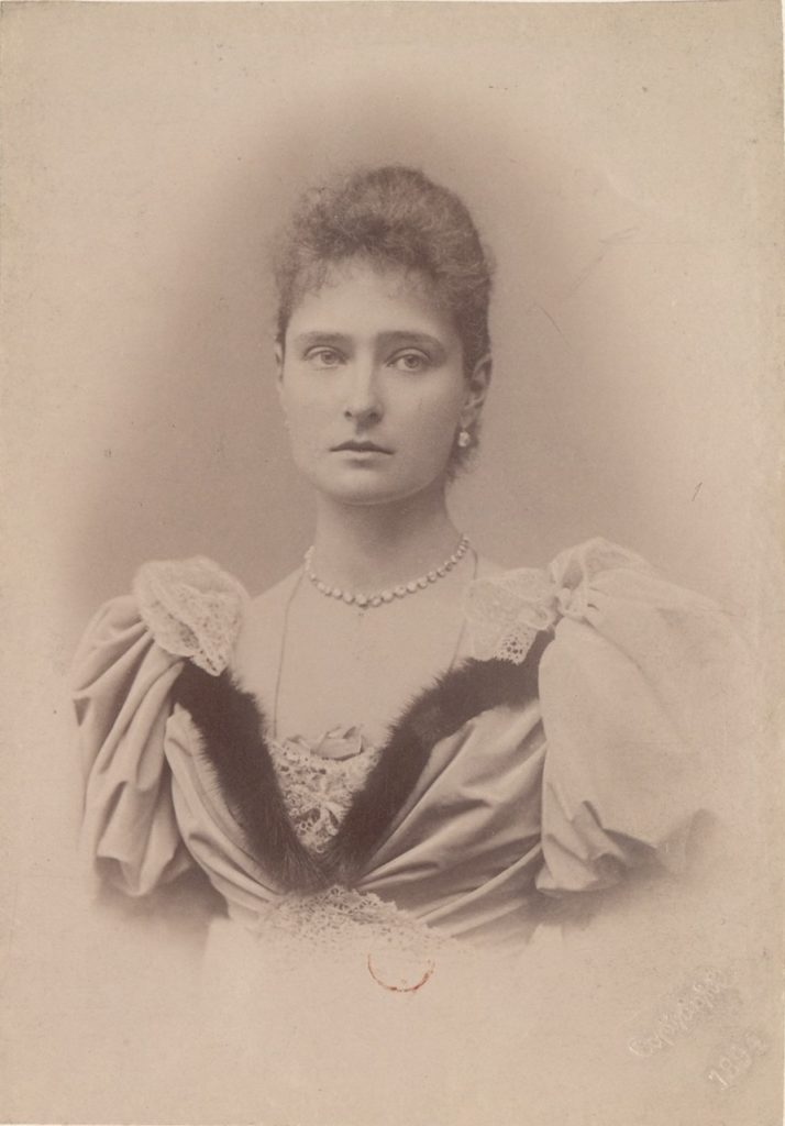 Empress of Russia Alexandra Feodorovna