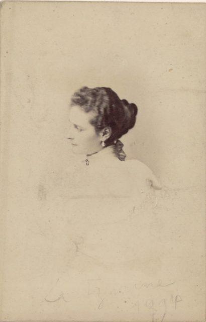 Empress of Russia Alexandra Feodorovna, portrait
