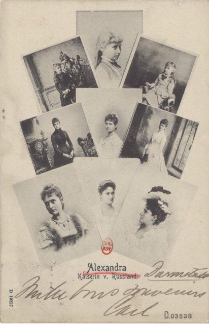 Empress of Russia Alexandra Feodorovna, Kaiserin of Russland