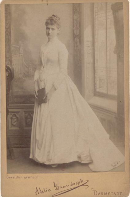 Future Empress of Russia Alexandra Feodorovna, portrait