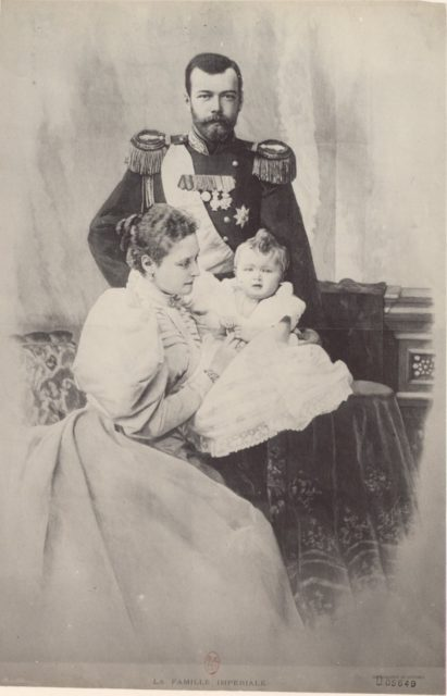 Empress of Russia Alexandra Feodorovna, Nicholas II, Olga