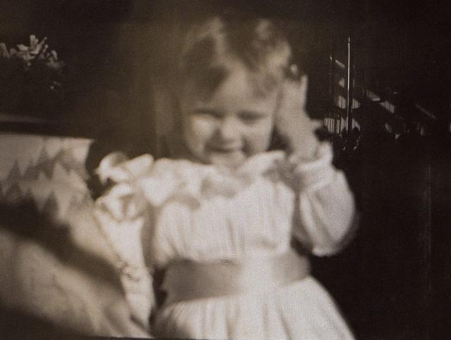 Grand Duchess Tatiana Nikolaevna. The second daughter of Emperor Nicholas II and Empress Alexandra Feodorovna. At home. Children's photo of 1898.