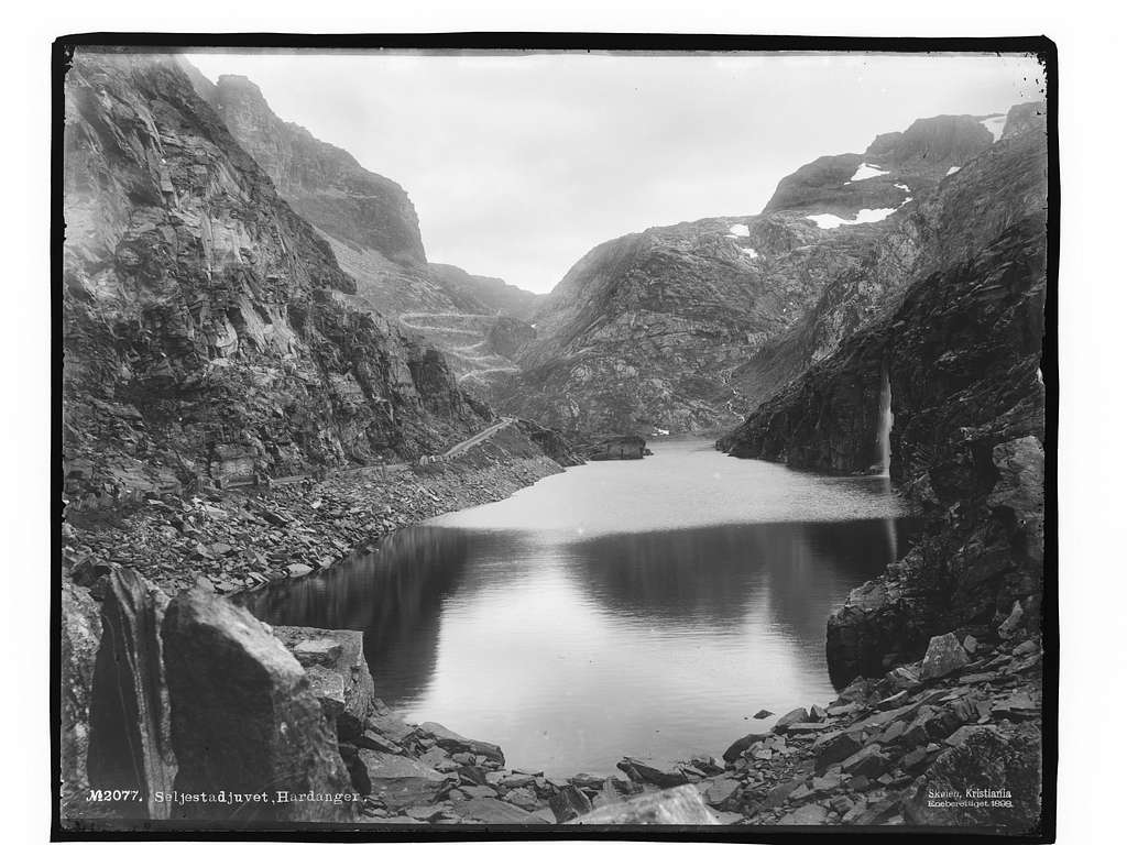 Seljestadjuvet, Hardanger - NB MS G4 0948
