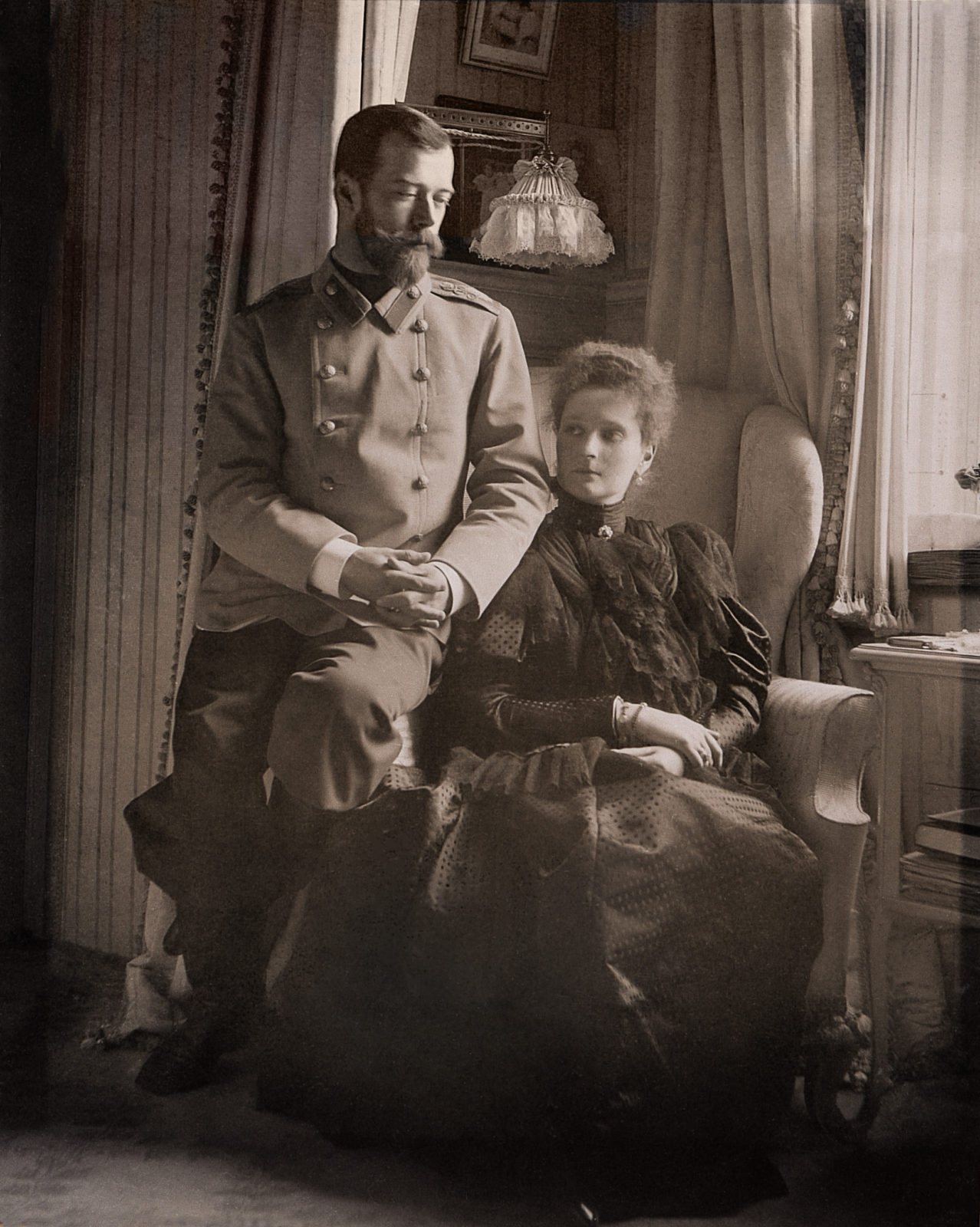 Still in love. Emperor Nicholas II and Empress Alexandra Feodorovna