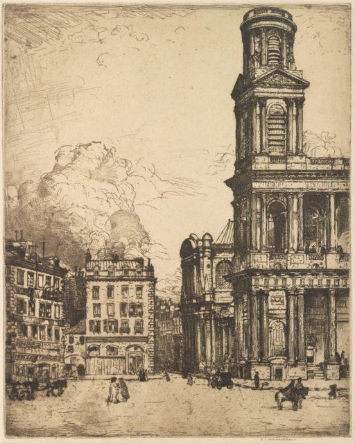 Saint Sulpice, Paris: La Grande Tour