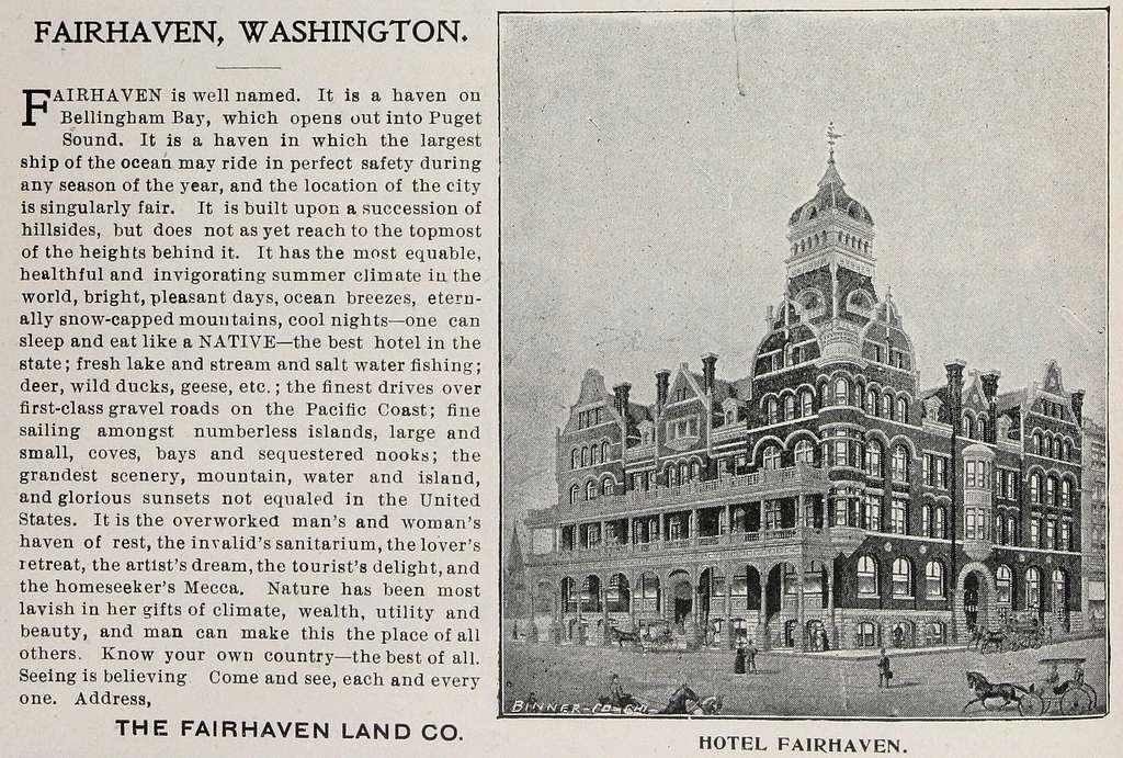 Fairhaven Land Company (1900) (ADVERT 295)