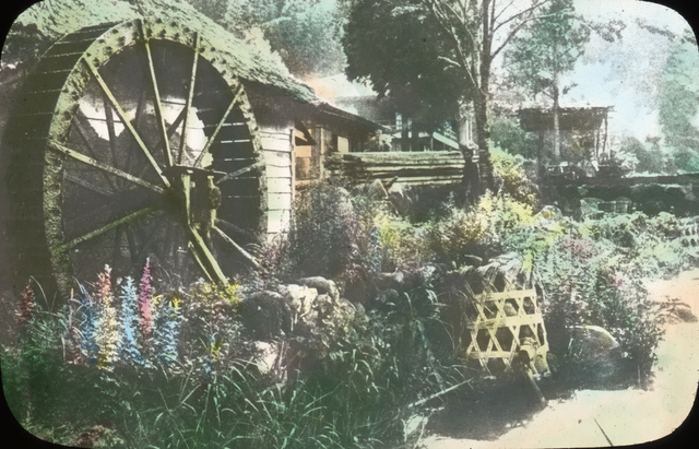 A Village Waterwheel