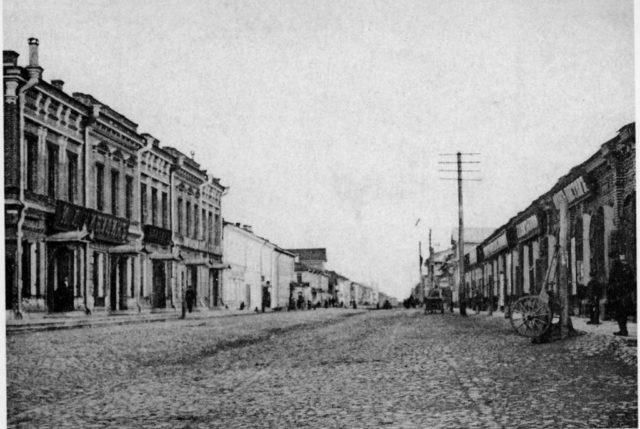 Street of Arkhangelsk (Archangel)