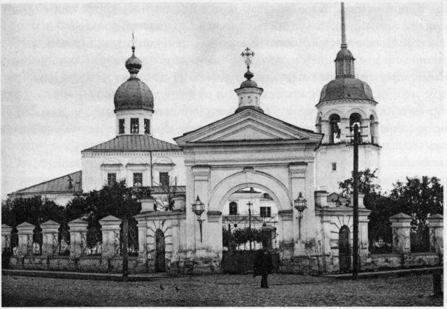 Church in Arkhangelsk (Archangel)