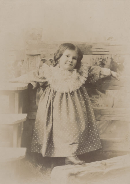 Baby Floe Sallows, date unknown