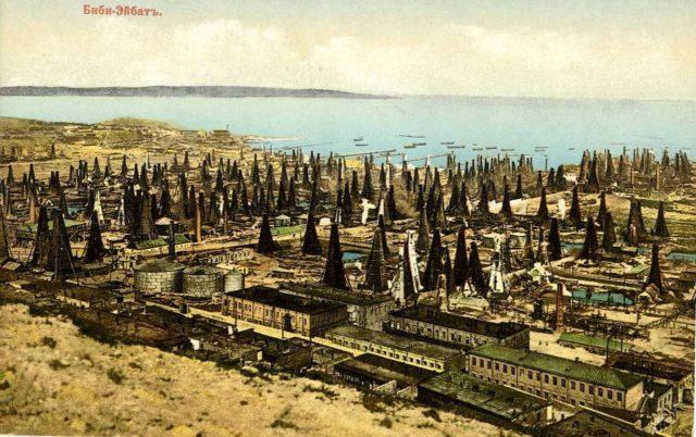 Baku. Bibi-Эйбат