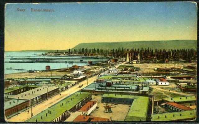 Baku. Bibi Heybat. Post card.