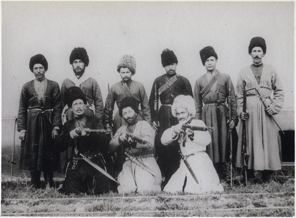 Baku. Local residents (Circassians).