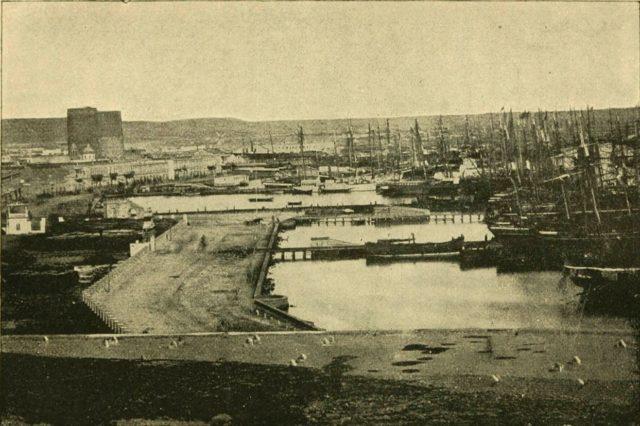 Baku port