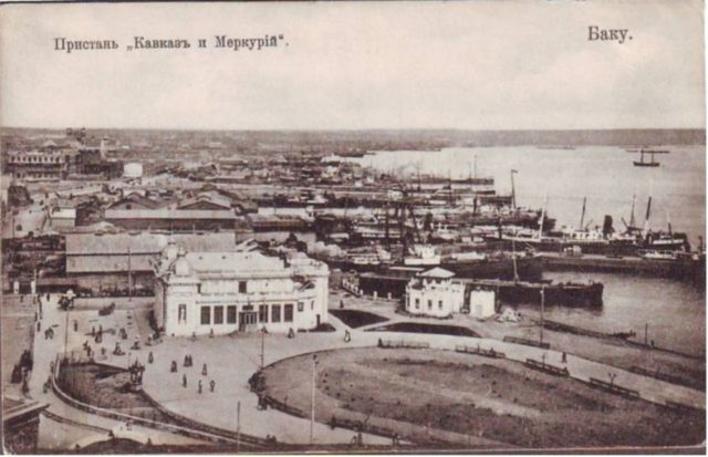 Caspian Sea - Kavkaz and Mercury, Baku