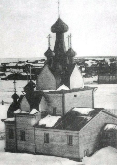 Church of the Nativity of the Blessed Virgin. 1887 - Mezen