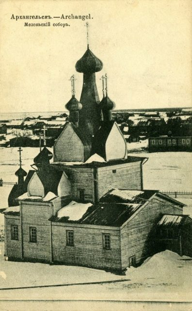 Cathedral of the Nativity of the Blessed Virgin. 1887 - Mezen of Arkhangelsk Gubernia