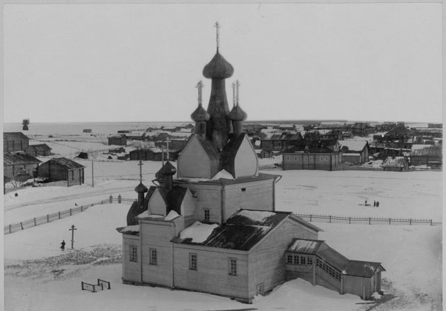 Church of the Nativity of the Blessed Virgin. - Mezen, Arkhangelsk Gubernia