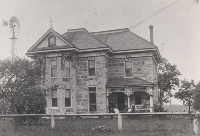 Crozier home, Ashfield, Township, date unknown