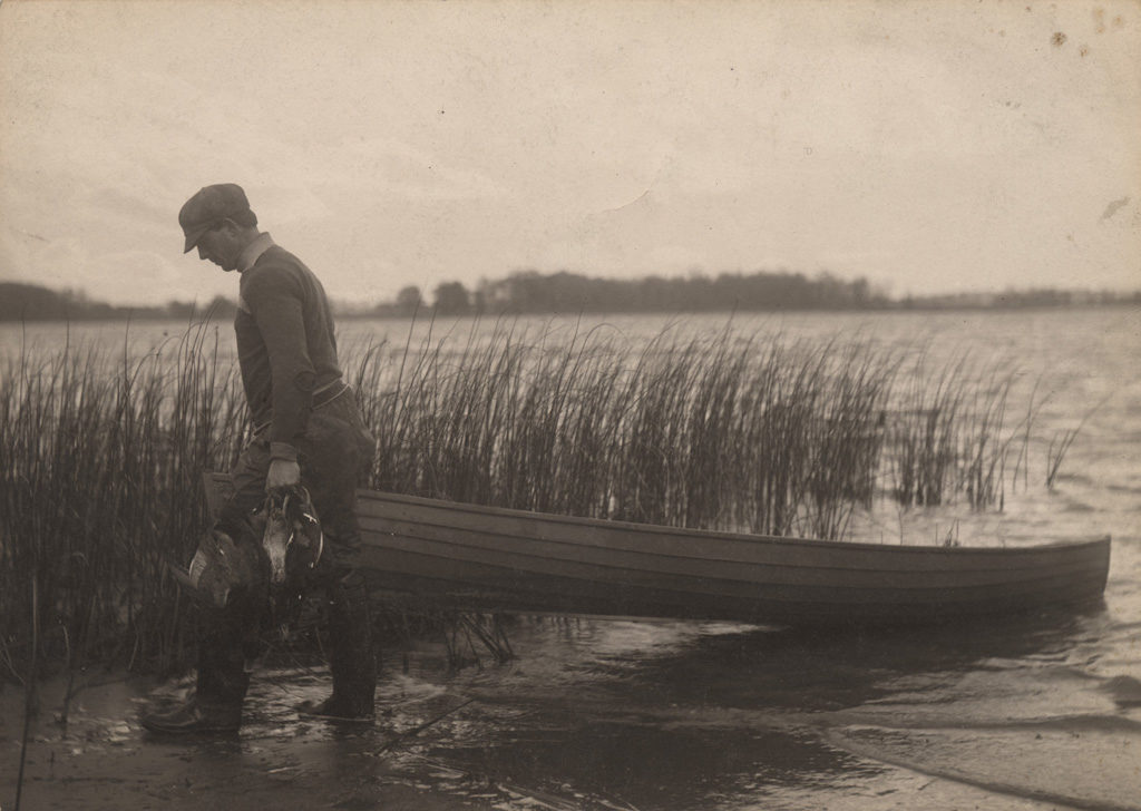 Duck hunter, date unknown