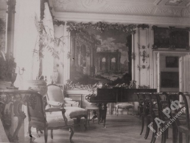 Fredensborg Castle Interior. 1899-1900. The family of the Russian Emperor Nicholas II visited his relatives in Germany.