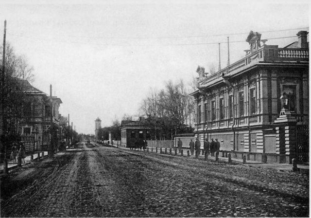 German settlement, Arkhangelsk (Archangel)