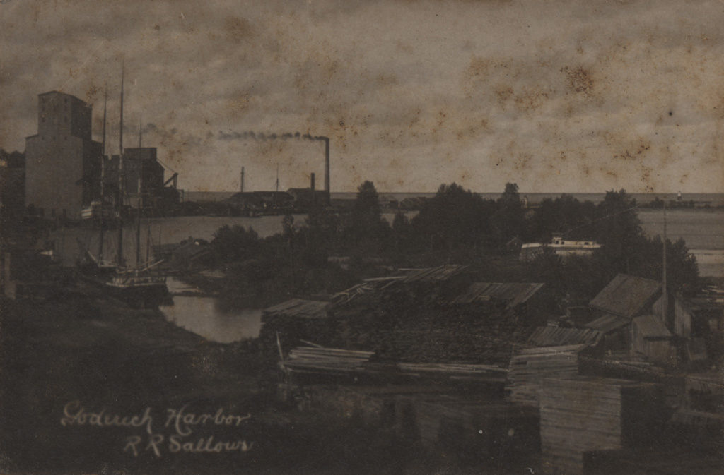 Goderich Harbor, date unknown