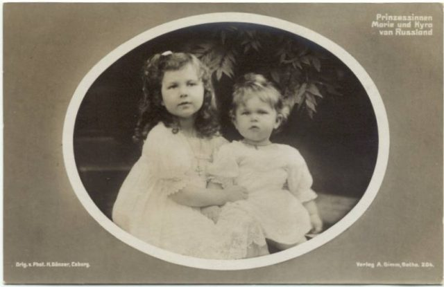 Grand Duchess Maria and Kyra of Russia / Großfürstinnen Marie und Kira