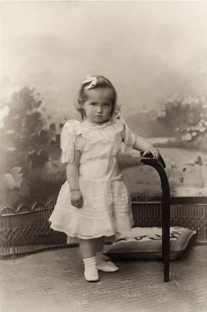 Grand Duchess Maria Nicholaevna child portrait