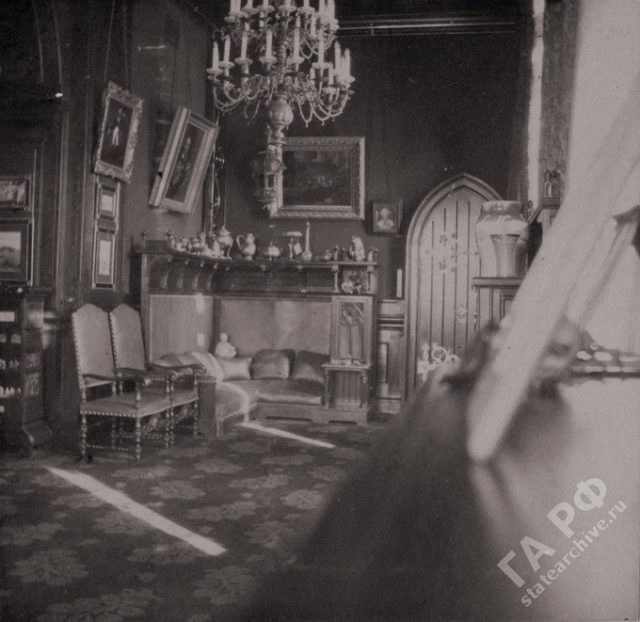 Interiors of the house where the family of the Russian Emperor Nicholas II lived during visiting relatives in Germany.