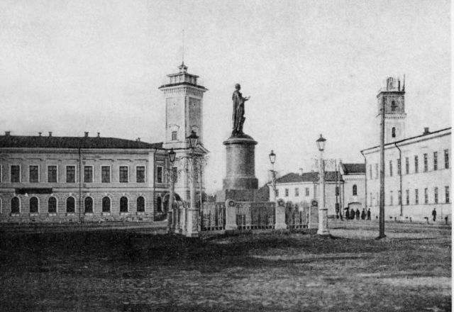 Lomonosov Square, Arkhangelsk (Archangel)