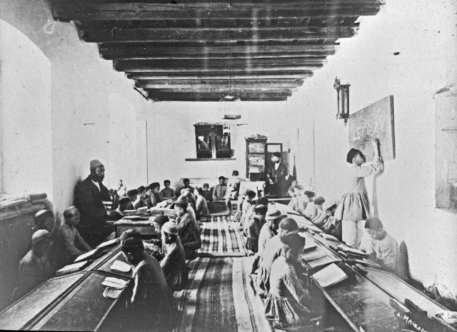 Madrasah, training of boys, Baku